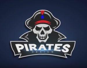 Draw a Pirate Logo Design in Adobe Illustrator