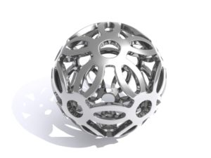 Abstract Symmetrical Sphere free download