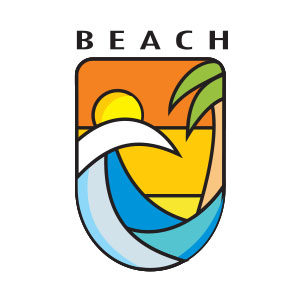 Beach Logo Free Vector download