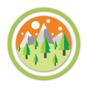 Mountain Vector Logo Free download