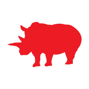 Rhinoceros Silhouette Vector download