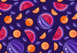 Draw a Bold Fruit Pattern in Adobe Illustrator