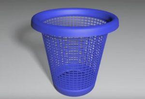 Modeling a Wastebasket with Splines in Cinema 4D