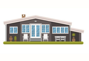 Draw Cottage in a Scandinavian Style in Illustrator