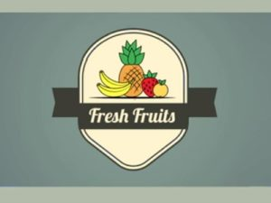 Draw a Vector Fruit Logo Badge in Illustrator