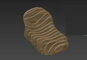 Modeling a Modular Chair in Autodesk 3ds Max