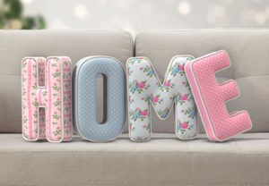 3D Stuffed letter Text in Adobe Photoshop