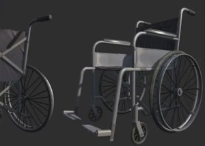 Modeling a Realistic Wheel Chair in 3ds Max