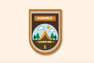 Draw a Summer Camp Logo Design in Illustrator