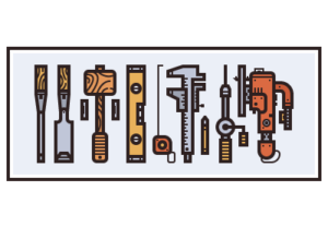 Draw a Vector Woodwork Tools in Adobe Illustrator