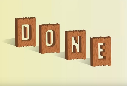 Create Vector Text Effect Wood 3D Box in Illustrator