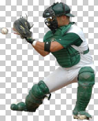 Baseball Catcher PNG image free download