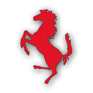 Horse Ferrari Logo Free Vector download