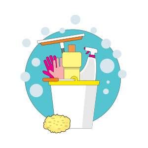 Cleaning Tools Free Vector download