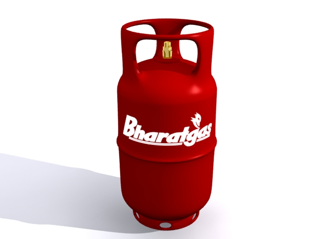 Cylinder Gas 3D Free Object download