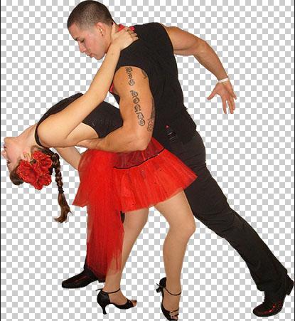 Sensual Cuban Dancers PNG Free download