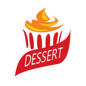 Dessert Logo Design Free Vector download