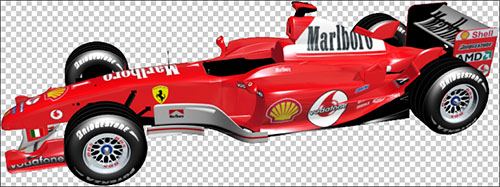 Ferrari F2003 GA F1 PNG Image