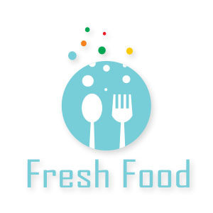 Fresh Food Logo Free vector download