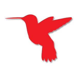 Hummingbird Silhouette Free Vector download