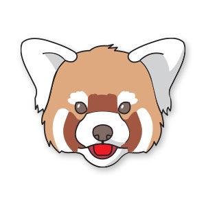 Red Panda Free Vector download