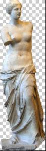 Milo's Venus Free PNG image download