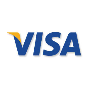 Visa Credit Card Logo Free Vector download