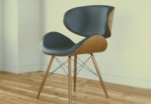 Modelling a Modern Realistic Chair in Cinema 4D