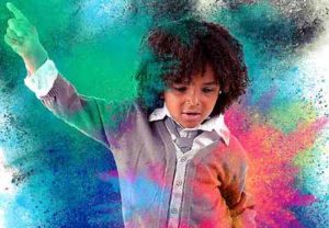 Create a Color Dust Action in Adobe Photoshop