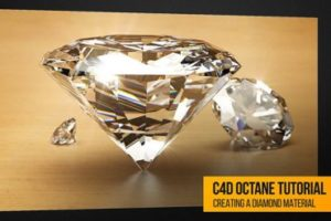 Create Realistic Diamond Material in Octane and Cinema 4D