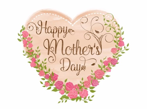 Draw a Vector Happy Mother's Day Card in Illustrator