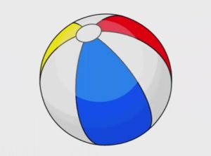 Draw a Simple Summer Inflatable Ball in Illustrator