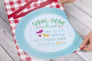 Design a Spring Picnic Flyer in Illustrator