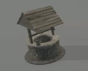 Modelling a Simple Water Well in 3ds Max
