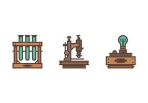 Draw a Vector Retro Science Icon in Illustrator