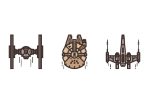 Draw a Star Wars Icon Pack in Adobe Illustrator
