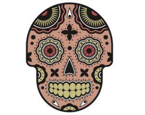 Draw a Vector Sugar Skull in Adobe Illustrator