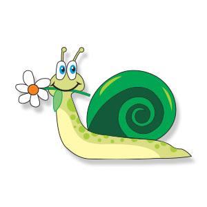 Cartoon Snail Free Vector