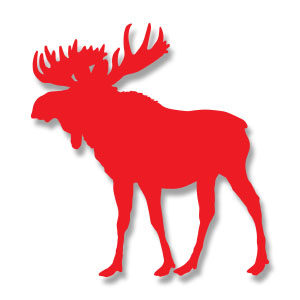 Moose Silhouette Free Vector download