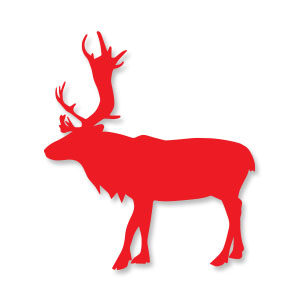 Reindeer Animal Silhouette Free download