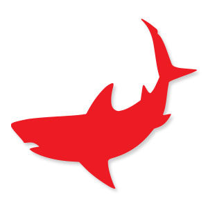 Shark Silhouette Free Vector download
