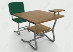 Modeling a School Desk and Chair in 3ds Max