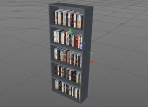 Create a Bookcase with Book Generator in Cinema 4D