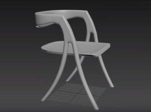 Modeling the Brookhaven Wood Chair in 3ds Max