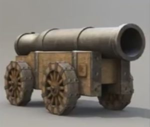 Modeling Low-Poly Medieval Cannon in 3ds Max