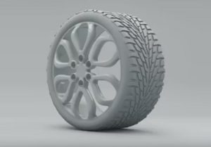 Modelling a Wheel and Tire in Maxon Cinema 4D