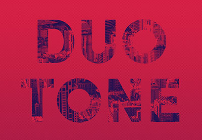 Quick & Easy Duotone Text Effect in Photoshop