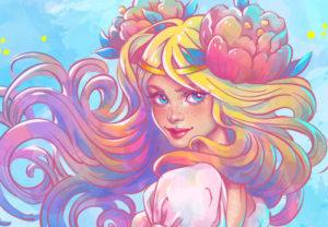Draw a Watercolor Mermaid in Adobe Illustrator
