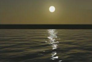 Create Sunset Ocean Scene in 3ds Max
