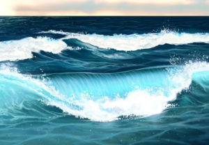 Paint Water, Waves and Ocean in Photoshop